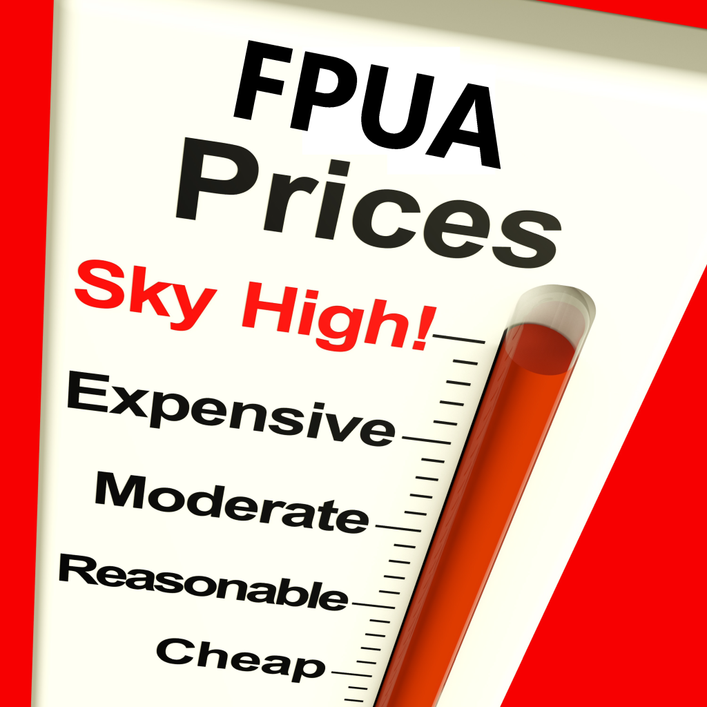 HIGH FPUA PRICES